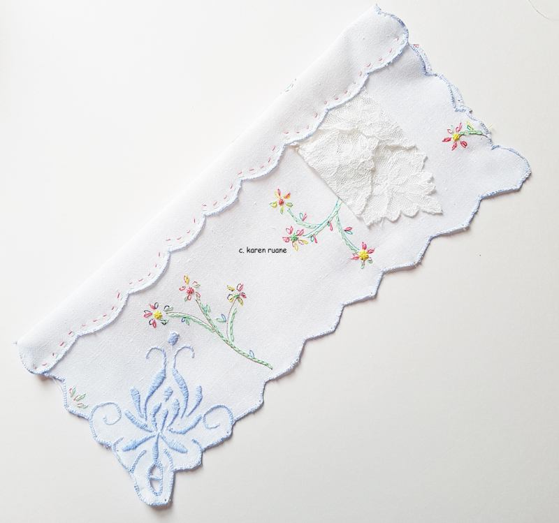Embroidered hankie 11