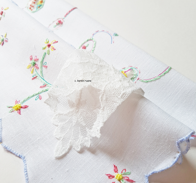 Embroidered hankie 12