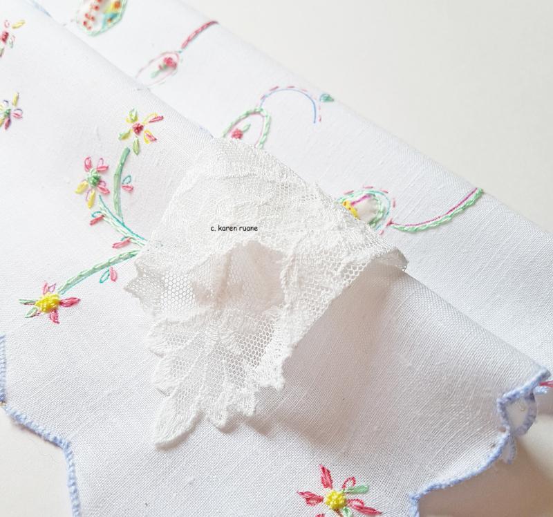 Embroidered hankie 12