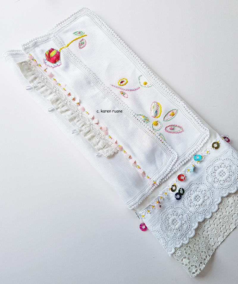 Embroidered hankie 16