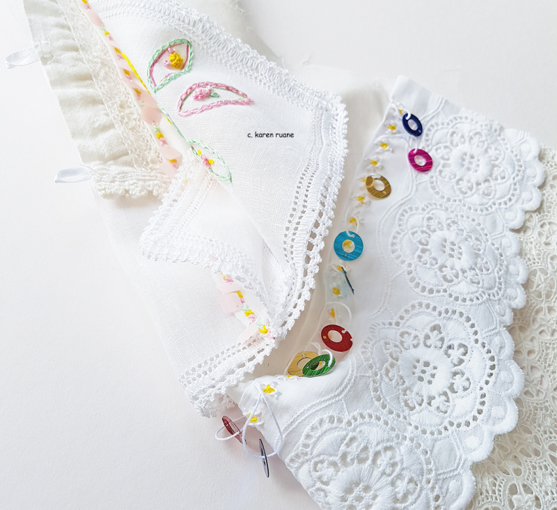 Embroidered hankie 18