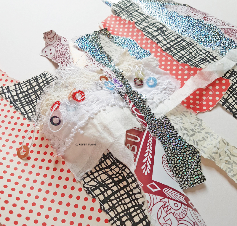 Stitched paper 9