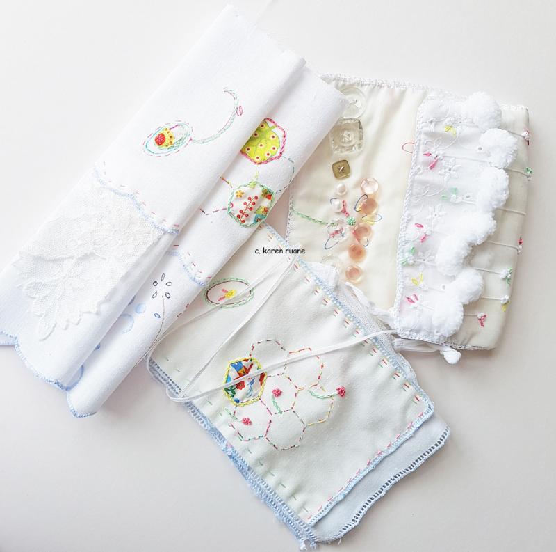 Button cloth or needlecase 6