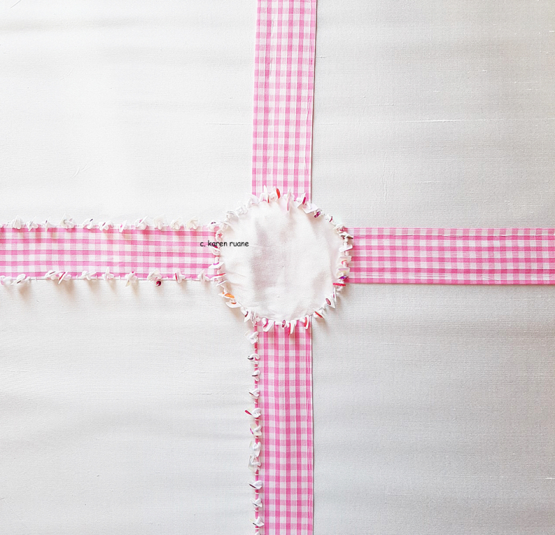 Gingham and sequins 5