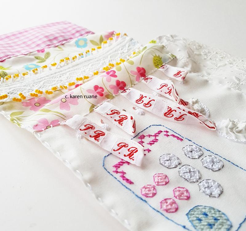 Stitched sample 12
