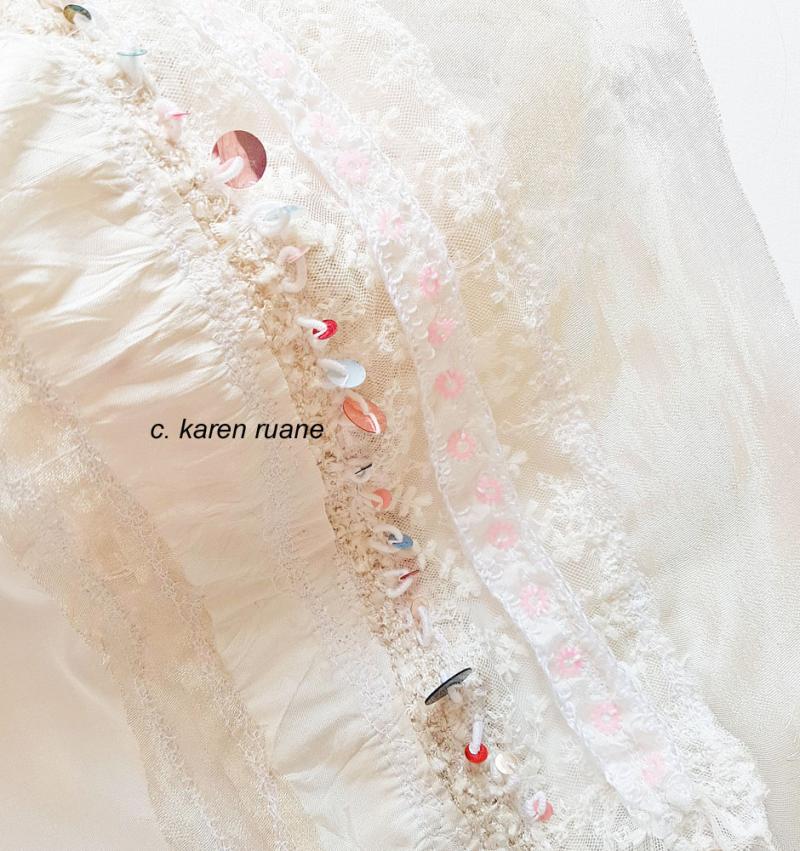 Sequin veil 1