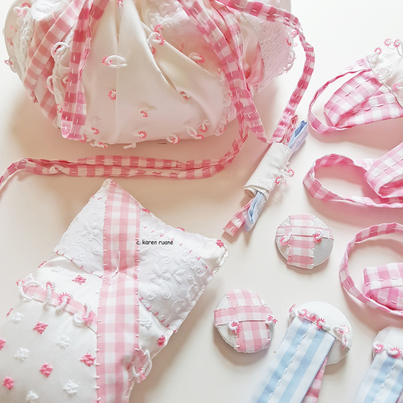 Silk and gingham collection 6