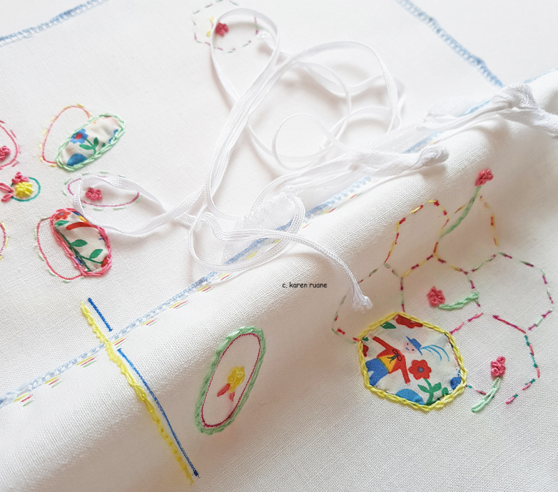 Embroidered hankie 2