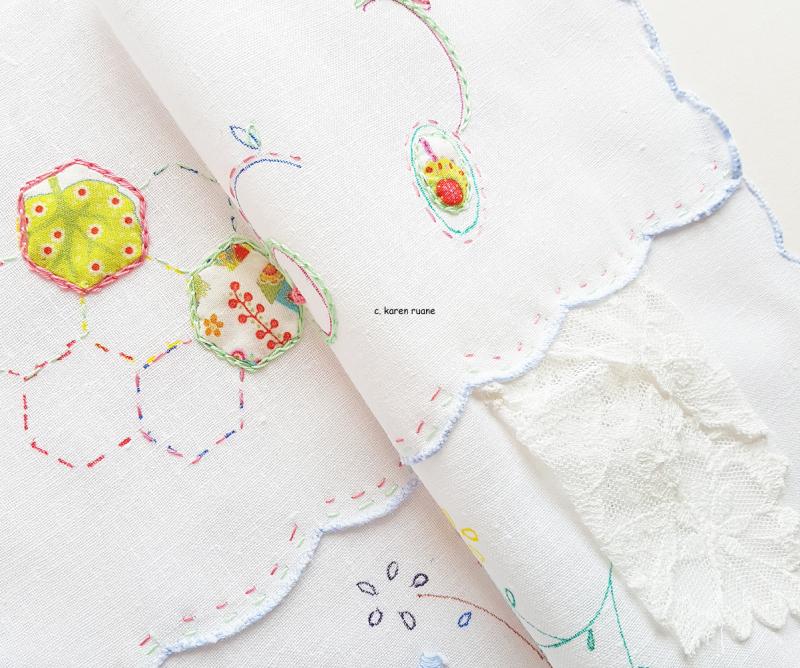 Button cloth or needlecase 1
