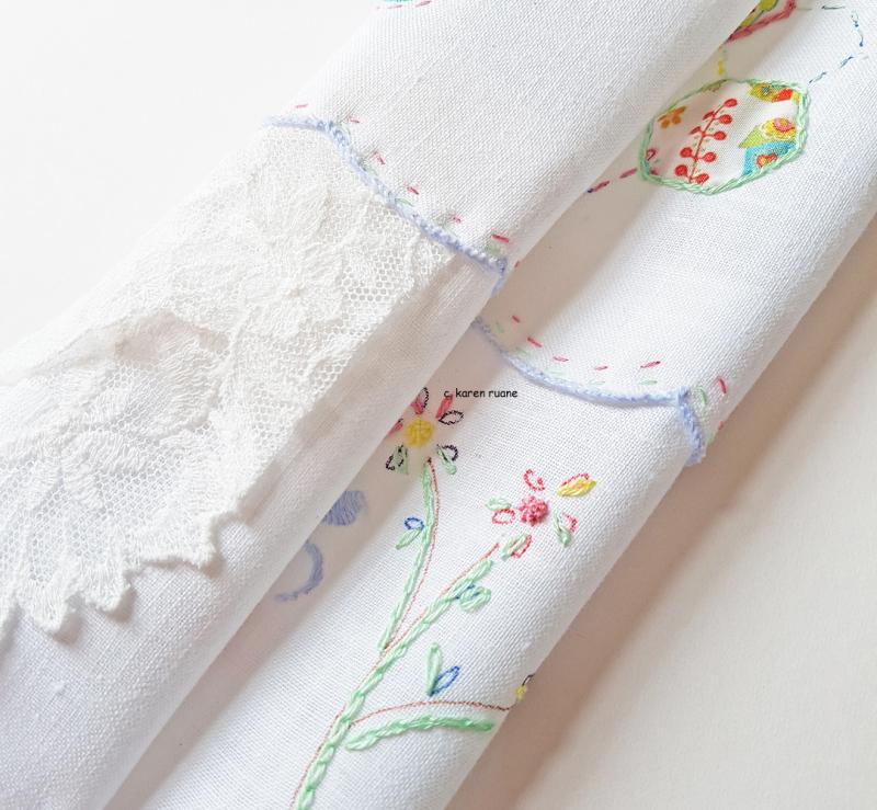 Embroidered hankie 9