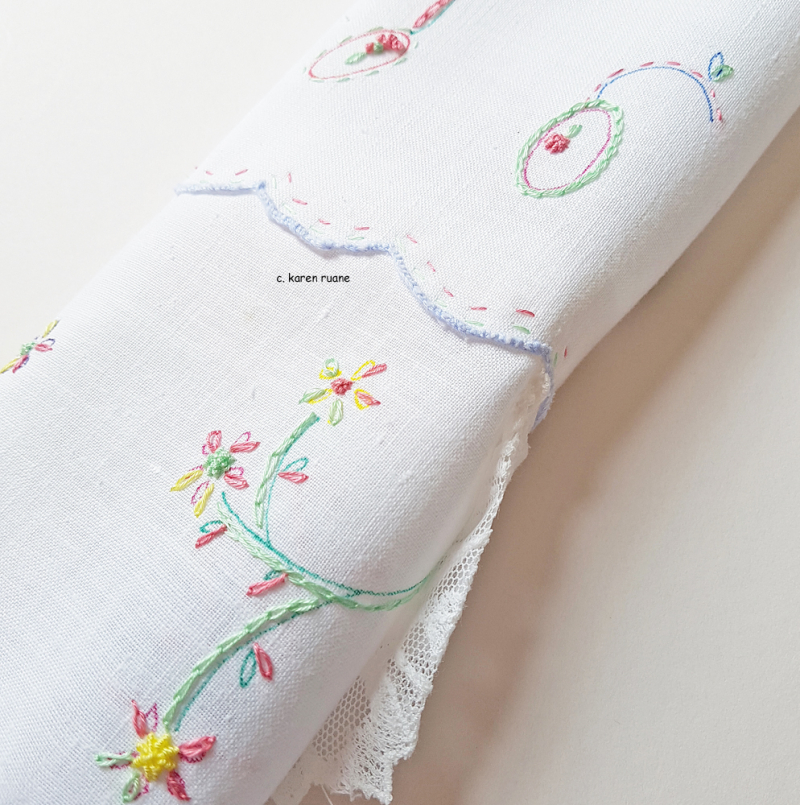 Embroidered hankie 8
